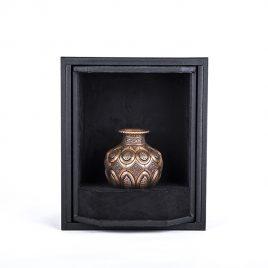 engraved vase-lu102