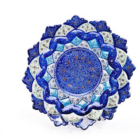 vitrous enamel or minakari Iranian handicraft