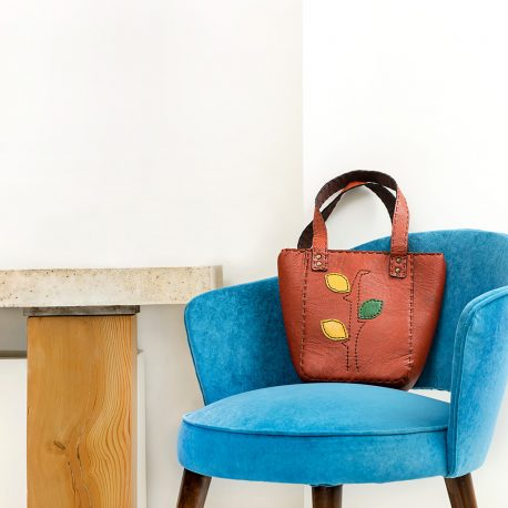 leather, leather art, hand bag
